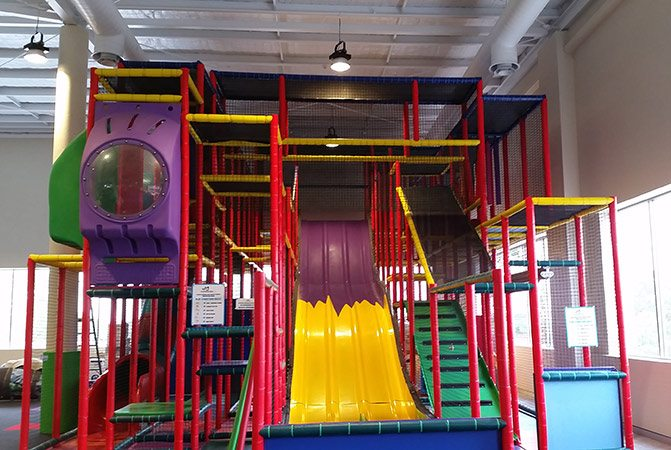 completed indoor playgrounds