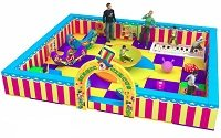 Soft play themed toddler areas