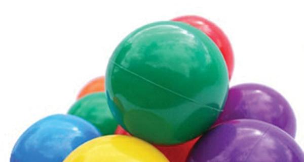 indoor playground balls