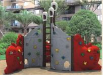 outdoor climbing wall equipment