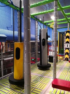ninja warrior playground