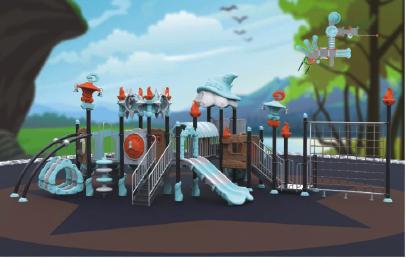 outdoor childrens playground