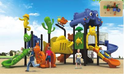 outdoor kids playground supplier