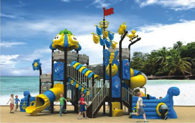 outdoors play centre equipment