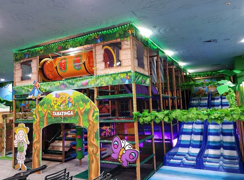 traditional indoor playground