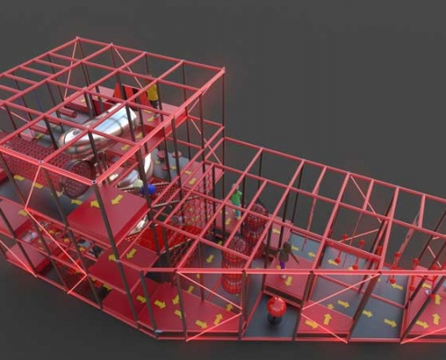 ninja warrior course supplier