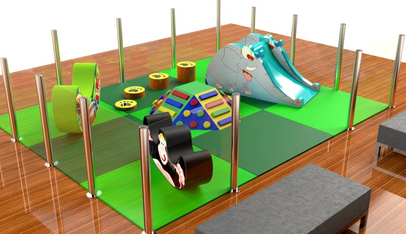 soft play toddler zones