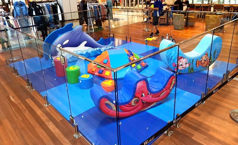 softly playground equipment