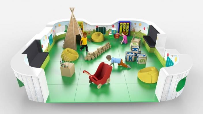 softly toddler playground