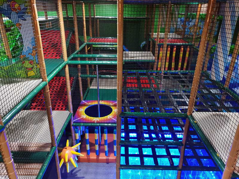 traditional indoor playground equipment