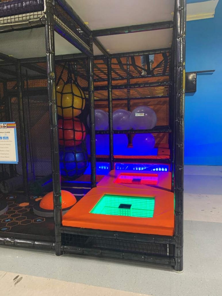 ninja course playground manufacturer