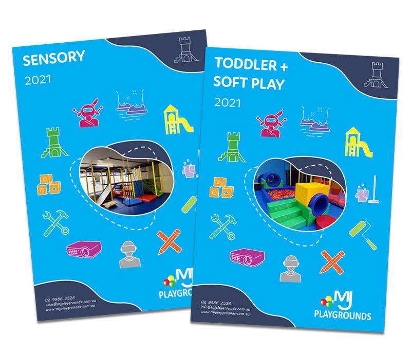 indoor playground brochures