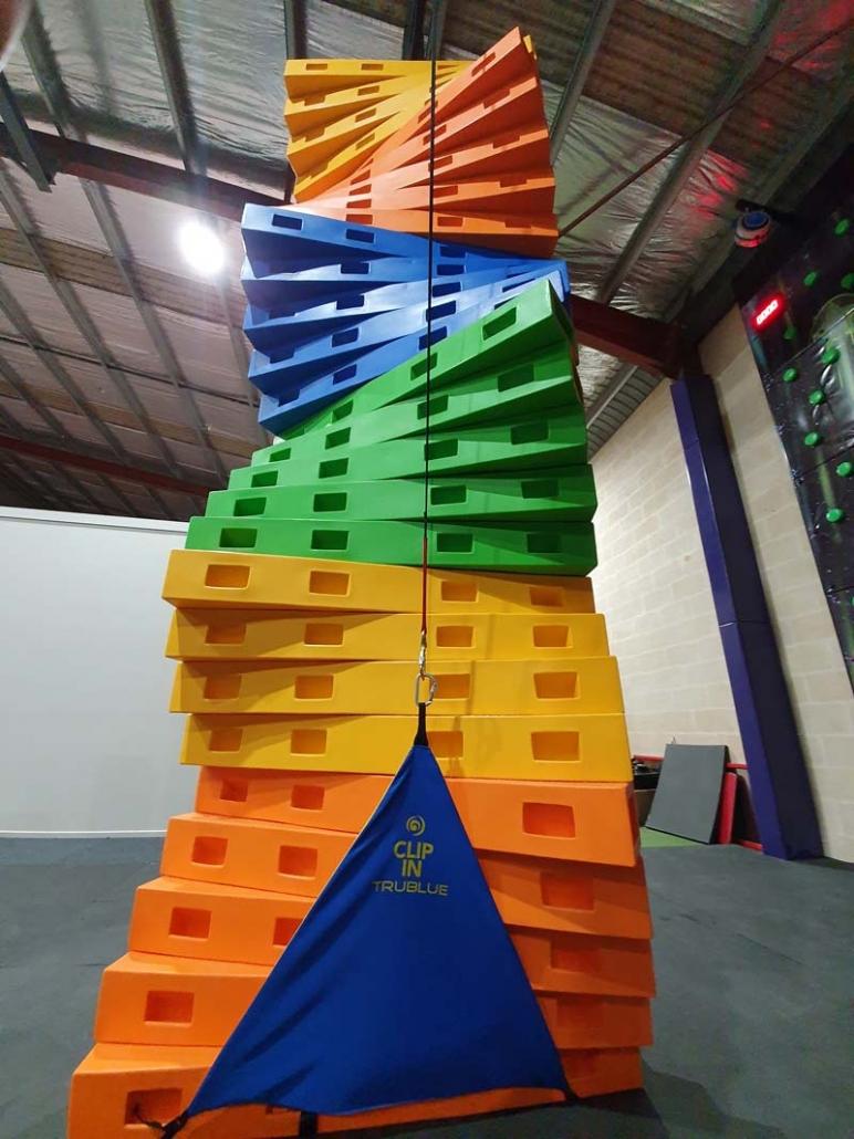 interactive climbing walls