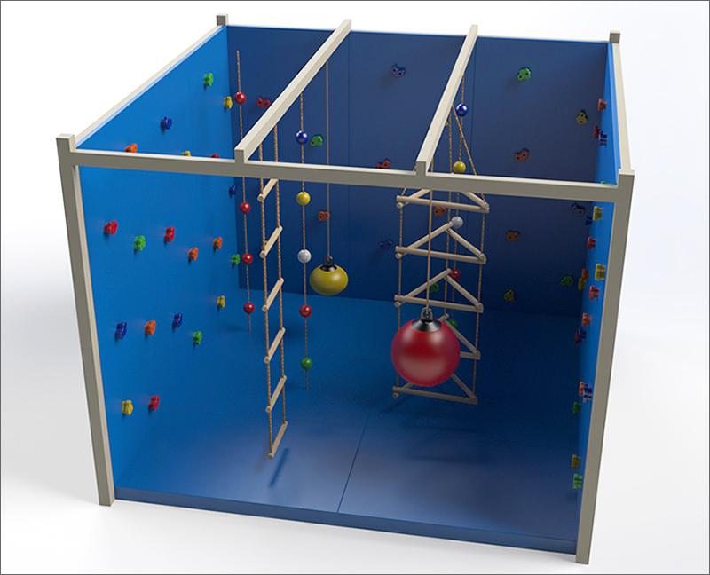 sensory climbing cube